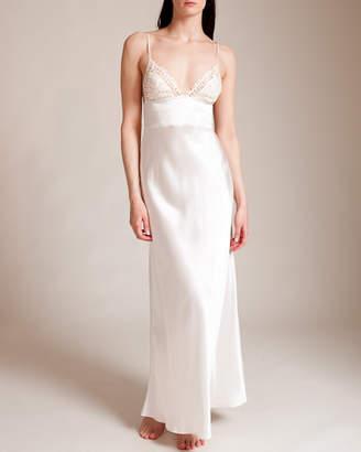 La Perla Petit Macrame Long Gown
