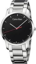 Calvin Klein city Men's Swiss Stainless Steel Bracelet Watch 43mm K2G2G141