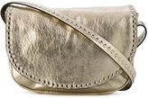RED Valentino studded trim shoulder bag - women - Sheep Skin/Shearling - One Size