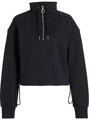 JONATHAN SIMKHAI STANDARD Zella Cropped Pullover