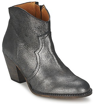 Lollipops ROMANE HIGH BOOTS women's Low Ankle Boots in Silver