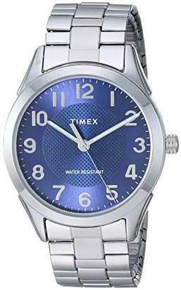 Timex Men's TW2T46100 Briarwood 40mm Stainless Steel Expansion Band Watch