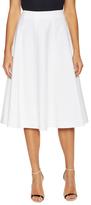 Lafayette 148 New York Nevada Cotton A Line Skirt
