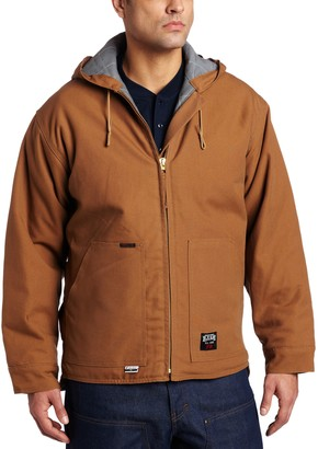 Key Industries Key Apparel Men's Big-Tall Fire Resistant Insulated Hooded Duck Jacket