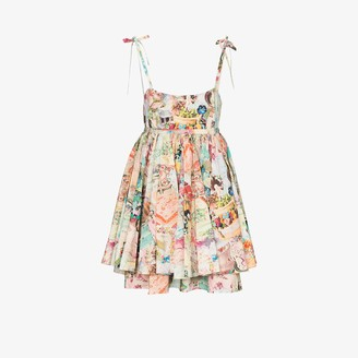 Marc Jacobs The Babydoll cake print dress