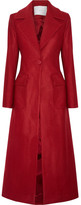 ADAM by Adam Lippes Wool-blend Coat - Claret