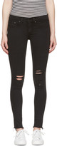 Rag & Bone Black Legging Jeans
