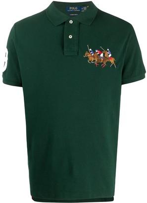 Polo Ralph Lauren Triple-Pony polo shirt