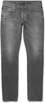 Tom Ford - Slim-fit Washed Selvedge Denim Jeans
