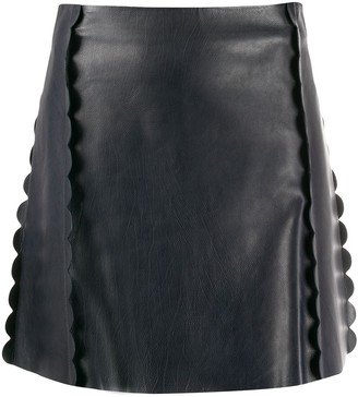 Chloé Scalloped A-Line Skirt