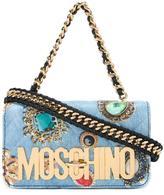 Moschino jewel print shoulder bag