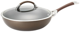 "Circulon 14.25"" Symmetry Covered Stir Fry Pan"