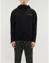 The Kooples Sport Relaxed-fit cotton-blend jersey hoody