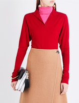 J.W.Anderson Double-layered stretch-wool jumper