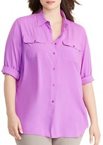 Lauren Ralph Lauren Plus Jersey Workshirt