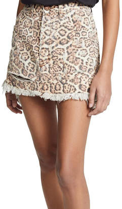 One Teaspoon Vanguard Mini Skirt