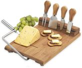 Picnic at Ascot Stilton 6-Piece Bamboo Cheese Board Set