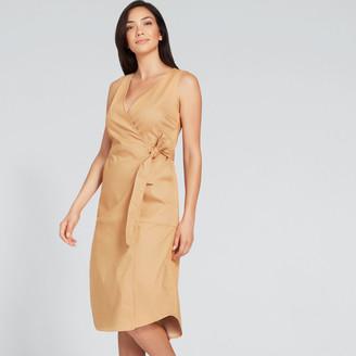 Seed Heritage Sleeveless Wrap Dress
