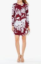 BCBGMAXAZRIA Ashton Floral Print Dress