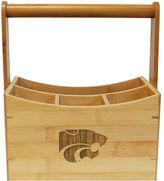 Kansas State Wildcats Bamboo Utensil Caddy