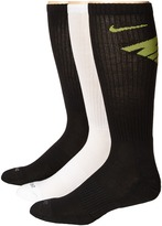 Nike Dri-Fit Fly Crew 3-Pair Pack Crew Cut Socks Shoes
