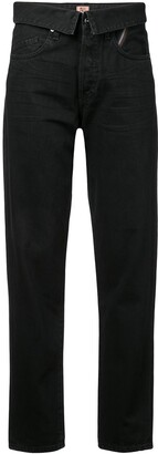 Atelier Jean straight-leg trousers