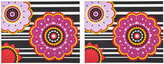 Set of 2 Rectangular Placemats