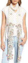 Rebecca Minkoff Women's Floral Paisley Skinny Scarf