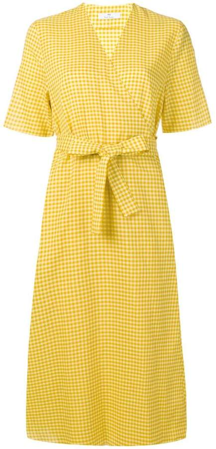 Paul Smith belted vichy dress