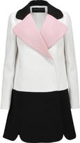 Giambattista Valli Color-block crepe jacket