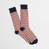 J.Crew Factory Triple narrow-striped socks