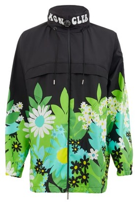 8 Moncler Richard Quinn - Pat Floral-print Nylon Jacket - Black Multi