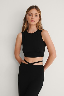 Curated Styles Detail Ruched Crop Top