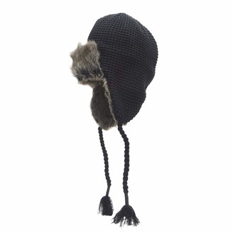 Dockers Winter Warm Trapper Hat Black Casual One Size