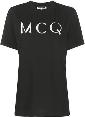 McQ Swallow logo print T-shirt