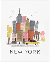 Rifle Paper Co. Rifle Paper New York City Poster - 28x35cm