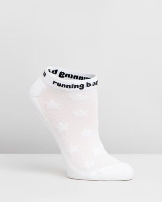Running Bare Women's White all socks - Bare Essentials Microfibre Socks - Size One Size at The Iconic