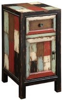 Christopher Knight Home Battletown Multicolor One Drawer One Door Cabinet