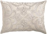 Amalfi by Rangoni D.L. Rhein Silver Embroidered Pillow