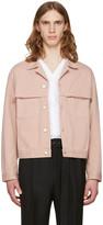 Cmmn Swdn Pink Denim Brody Jacket
