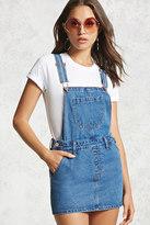 Forever 21 Denim Overall Dress