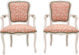 One Kings Lane Vintage French Provençal-Style Fauteuils, Pair