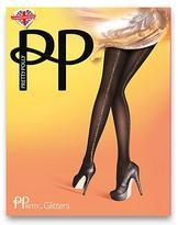 Pretty Polly Gold Back Seam Opaque Tights