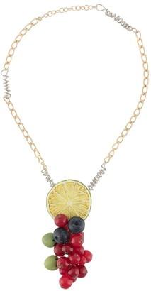 Maison Margiela Fruit-Pendant Necklace