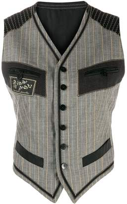 Jean Paul Gaultier Pre-Owned 1990's Les Rabbins Chic vest