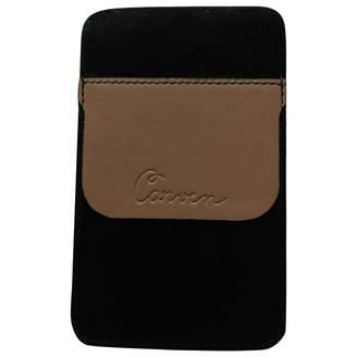 Carven \N Black Leather Purses, wallets & cases