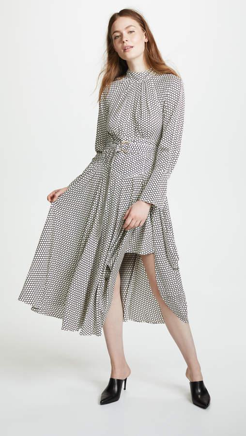Diane von Furstenberg High Neck Halter Dress