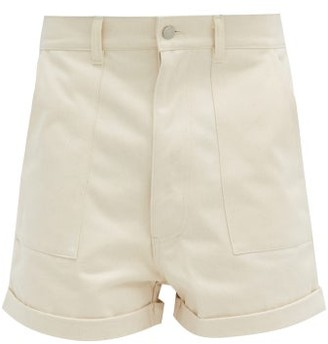 E. Tautz Patch-pocket Cotton Shorts - Beige