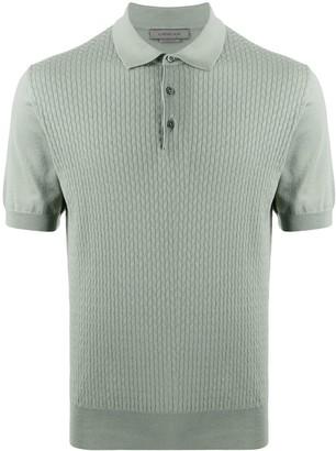 Corneliani Knitted Polo Top