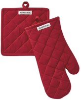 Williams-Sonoma Williams Sonoma Campus Oven Mitt & Pot Holder Set, Red